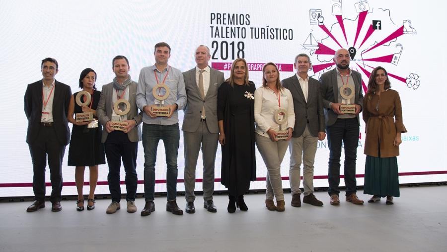 Foto premiados Deputación de Pontevedra